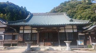 登山口の誓願寺は、方広寺「国家安康」鐘銘ゆかりの寺