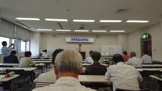 県議会の情報を報告する鈴木節子県議