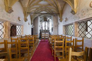 Hochzeit in der Georgskapelle in Hall - © Burg Hasegg / Münze Hall