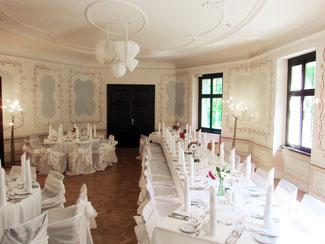 Hochzeitsfeier im Bergschlößl