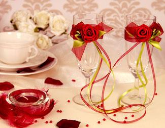 Günstige Hochzeitsdekoration