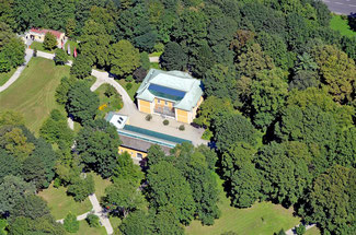 Luftaufnahme Bergschlößl, Linz