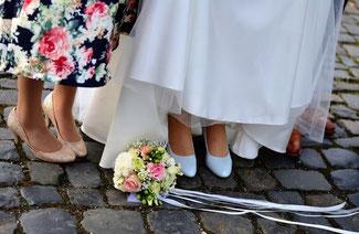Hochzeitskistchen für Heiratsutensilien