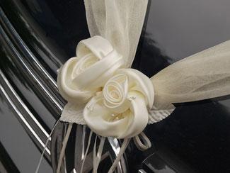 Bänder und Rosen