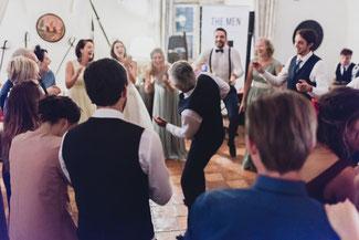 Hochzeit feiern!