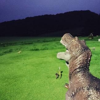 恐竜時代♪