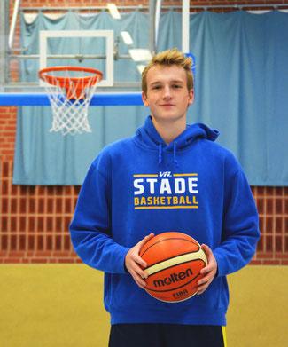 Henryk Schikora wechselt von den EWE Baskets Oldenburg zum VfL Stade. (Foto: Moradi)