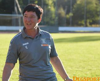 Trainerin Sandra Klause