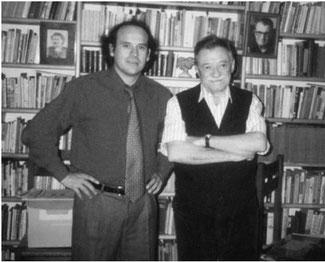 Reinaldo Marchant y Mario Benedetti