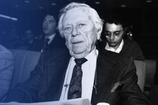 Robert Triffin, Bild: triffininternational.eu