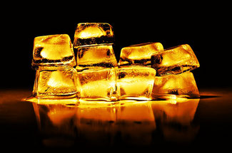 Gold kann auch dahinschmelzen