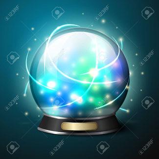 Niemand hat eine Kristallkugel...