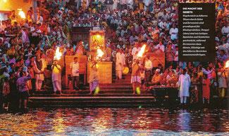 Zeremonien dienen dazu, Gläubige mit den höheren Bereichen zusammenzubringen. (Bild durch Klick vergrößern)