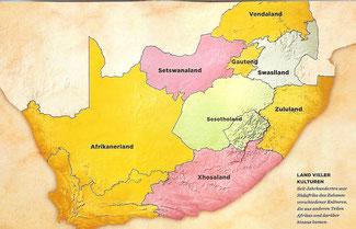 Land vieler Kulturen - Seit Jahrhunderten war Südafrika das Zuhause verschiedener Kulturen.