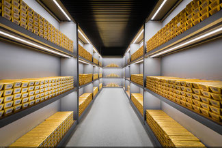 Goldreserven der Bundesbank, Bild: bundesbank.de