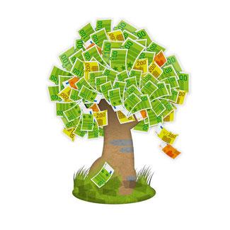 Langfristige Vermögenswerte als Geldbaum