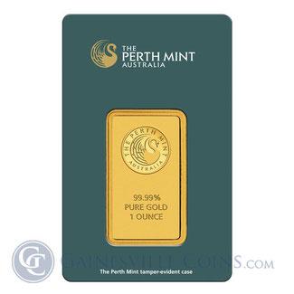 Perth Mint 1 Unze Goldbarren