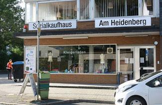 Außenansicht von Sozialkaufhaus Am Heidenberg in Siegen