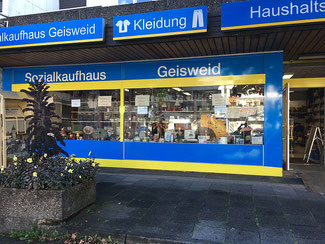 Sozialkaufhaus in Siegen Geisweid