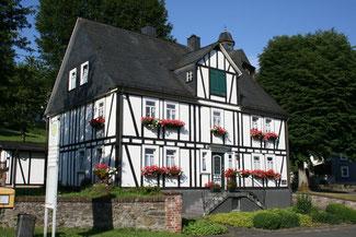 Das Heimathaus in Achenbach