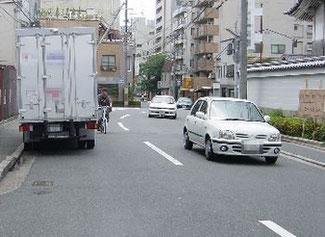 自転車の右側通行