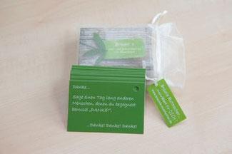 50 unterschiedliche Mutmach-Karten für Erwachsene zu den Themen: LIEBE, DANKBARKEIT und GESUNDHEIT