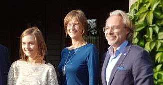 Von links: Annina Frangenberg (Rhein-Berg Kreis), Jessica Gaitskell (Rhein-Sieg Kreis), Gerd Kaspar (Köln). Es fehlt Elmar Conrads-Hassel (Bonn)