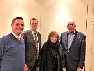 Arno Zurbrüggen, Markus Diekhoff, Hildegard Hödl, Hans-Gerd Voelke
