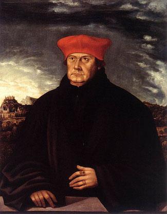 Erzbischof Matthäus Lang - Gemälde aus der Residenzgalerie