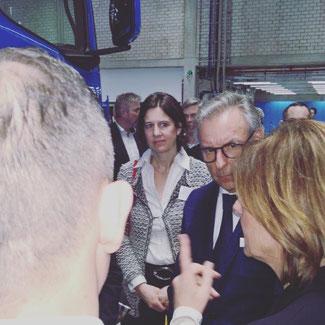 Besuch bei Daimler im Januar 2020 mit Ministerpräsidentin Malu Dreyer