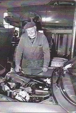 Grossvater und Gründer des Autohauses Erwin Steffen