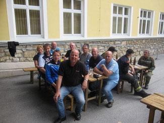 Am Bild Obmann Stlv. mit seinem Team. (Foto: Privat)