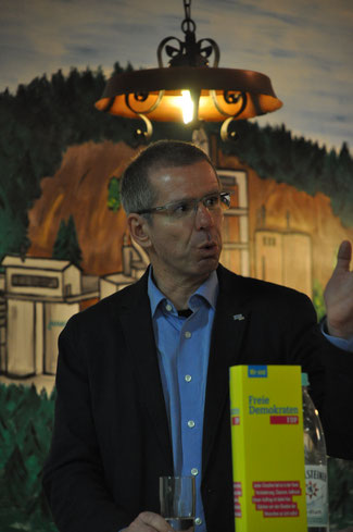 Marc Kleischmann, Bezirksvorsitzender der Deutschen Steuergewerkschaft für den Bezirk Rheinland