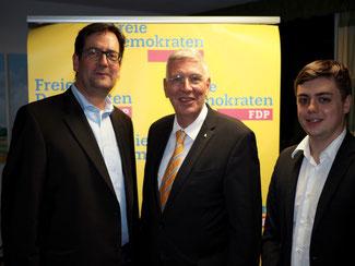 Markus Herbrand, Dr. Ingo Wolf, Frederik  Schorn