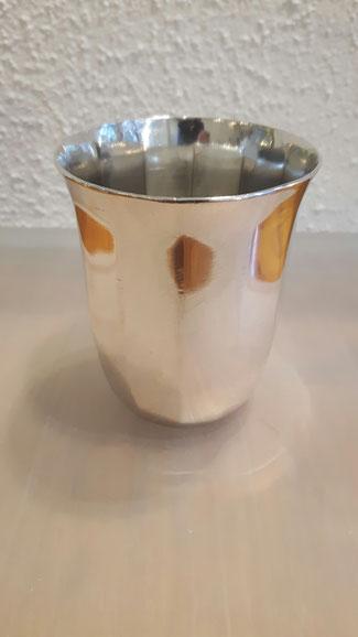 Taufbecher aus massiv Silber 835´er L&W Pforzheim