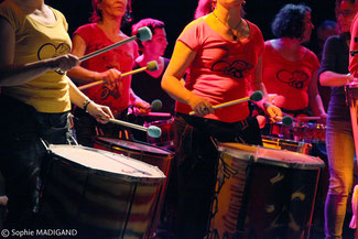 Atelier Batucada - Association Zé Samba - Crédits : Sophie Madigand