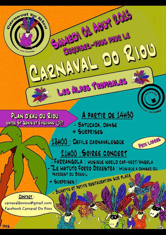 Affiche du Carnaval do Riou