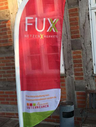 Flagge FUX- Frauenunternehmen Verden