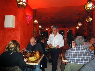 Restaurant au princes des sables, coucous, tajines, rouen