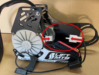 option capteur pedalier LIFT MTB
