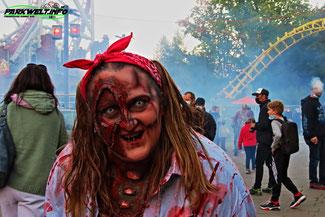 Halloween Fright Nights Holiday Park Haßloch Pfalz Zombie Area