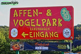 Affen und Vogelpark Eckenhagen Tierpark Zoo Nordrhein Westfalen