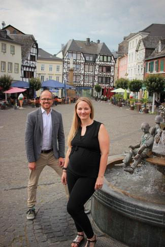 Sabine Henning und Philipp Amberg