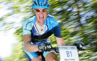 MTB-Legende Gary Fisher bei der Salzkammergut Trophy © Erwin Haiden