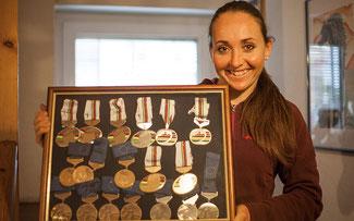 Eva Lechner will 2015 ihre Medaillensammlung noch vergrößern © Armin Huber