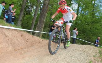 Helen Grobert, die Aufsteigerin der Saison © Erhard Goller