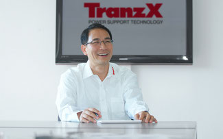 Johnson Cho, CEO von TranzX© TranzX