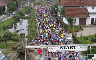 Start zum Frankenwald-Marathon ©Sportograf
