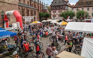 Start-Ziel in Neustadt © Radsportakademie