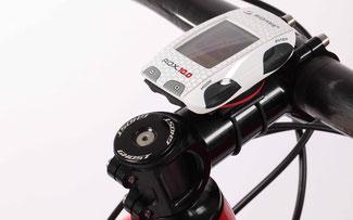 ROX 10.0 GPS von Sigma Sport am Vorbau eines Ghost Teambikes ©Jan Kasl